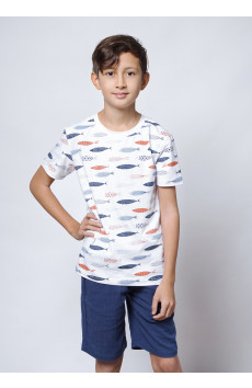 Adam Fish T-shirt SS