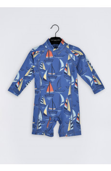 Dannie Boat Swim Play-suit LS
