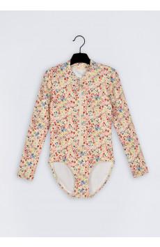 Kira Flower  Swimsuit LS